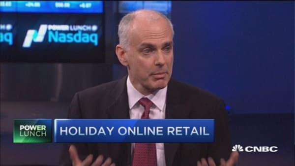 15% boost in online sales vs. brick & mortar: eMarketer