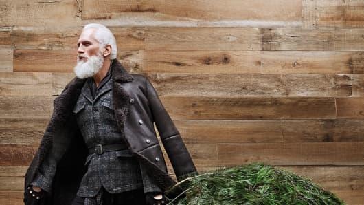 "Paul Mason, aka ""Fashion Santa"""