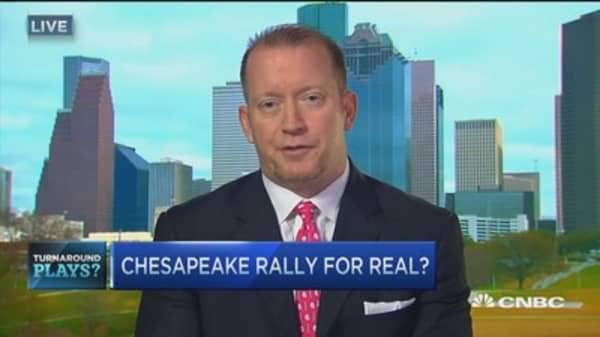 Chesapeake rally for real?
