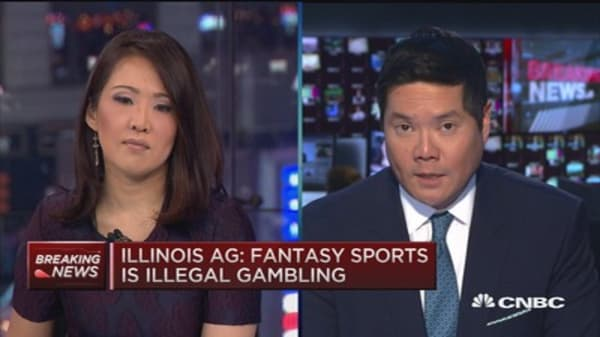 Illinois AG: Fantasy Sports is illegal gambling