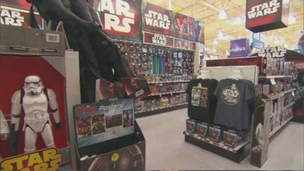 Star Wars Merchandise is in high demand