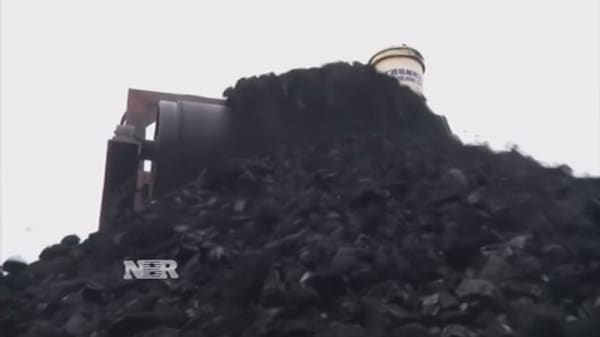 The coal industry in China faces an uncertain future
