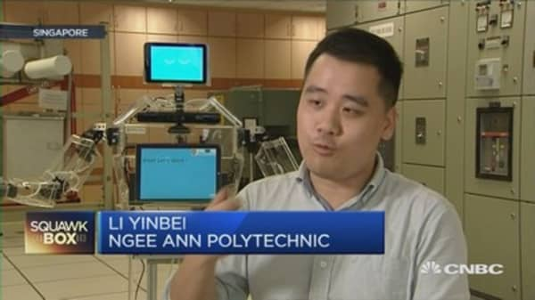 Singapore's solution to active aging? A robot