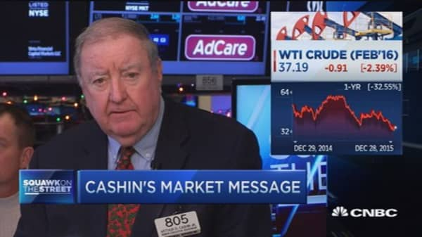 Watch WTI below $37: Art Cashin