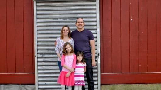 Jennifer Kurko and family
