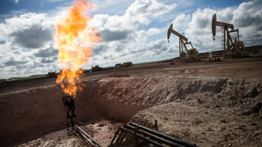Gas oil North Dakota