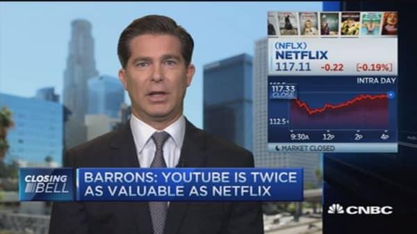The better streaming bet in 2016: Netflix vs. Alphabet's YouTube