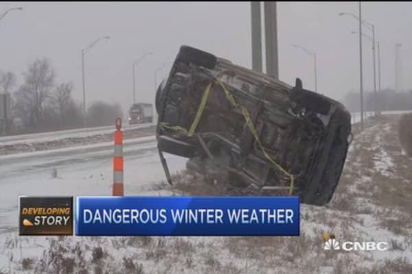 Winter weather threatens Northeast