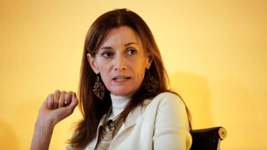 Blythe Masters, chief executive officer of Digital Asset Holdings LLC.