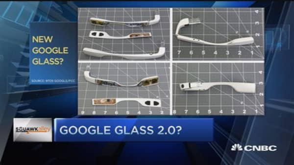 Early look at new Google Glass