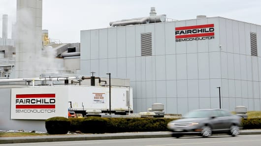 Fairchild Semiconductor in South Portland, Maine
