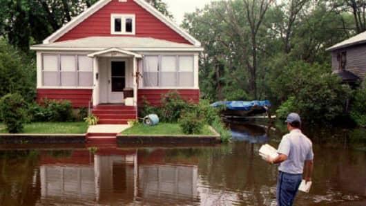Missouri floods in 1993
