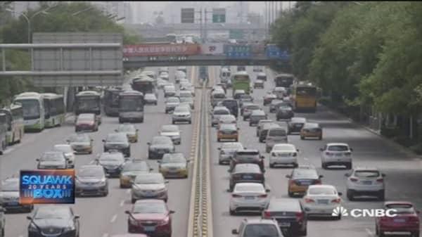 China's auto growth hits roadblock