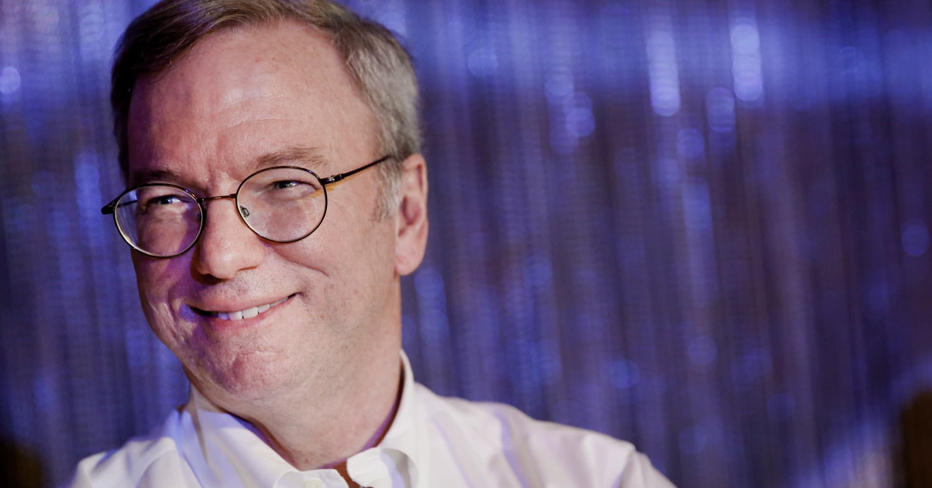 google billionaire eric schmidt luck is a big part of success