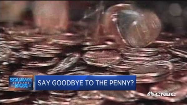 Demise of the penny?