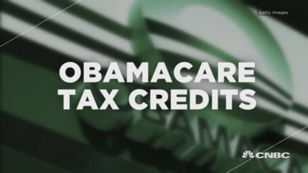 Obamacare tax credits