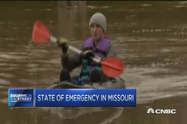 Missouri floods prompt state of emergency