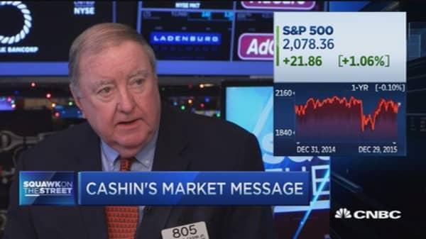 Cashin: Watch for this market phenomenon...