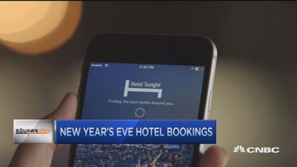 Last-minute NYE hotel reservations