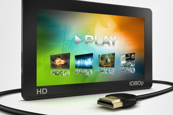 Portable HD media player