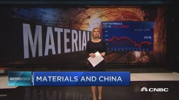 Materials and China