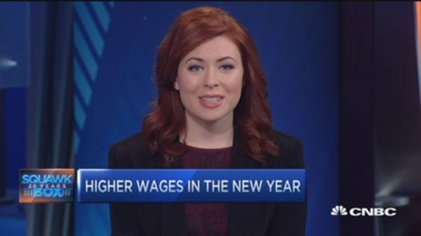 Wage hike trend continues into 2016