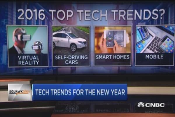 Connected homes, driver-less cars & 2016 tech