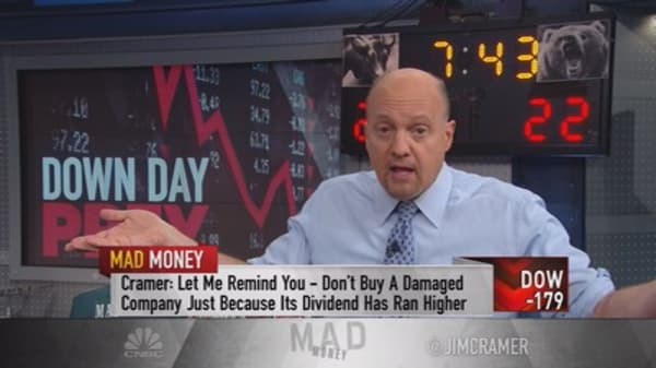 Cramer: Stocks to hunt for on down days