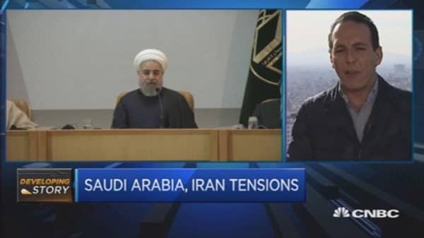 Iran's leader warns of 'divine revenge' on Saudi Arabia