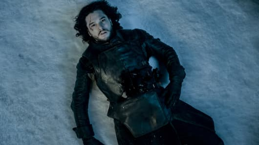 "Kit Harington, as Jon Snow in ""Game of Thrones"""