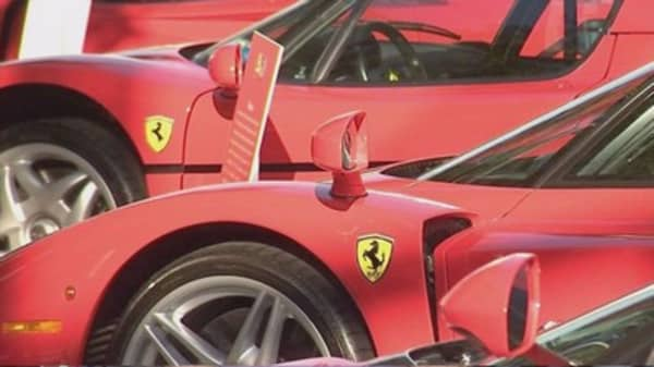 Ferrari debuts on Milan stock exchange