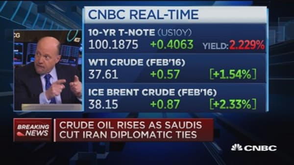 Cramer: US markets will be tested hard today