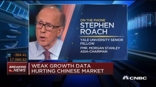 China hard landing fears overblown: Roach