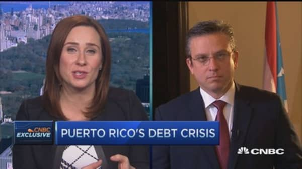 Puerto Rico default is not politics, it's math: Governor Padilla