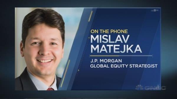 JPMorgan strategist: Stop buying the dips