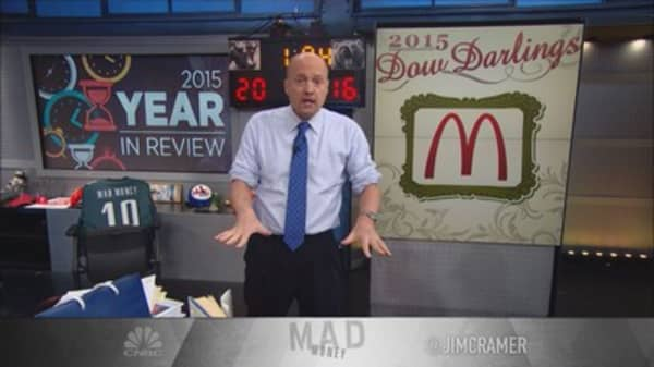 Cramer: 2015 Darlings of the Dow