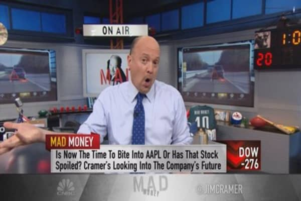Cramer: How to play FANG, Apple amid the sell-off