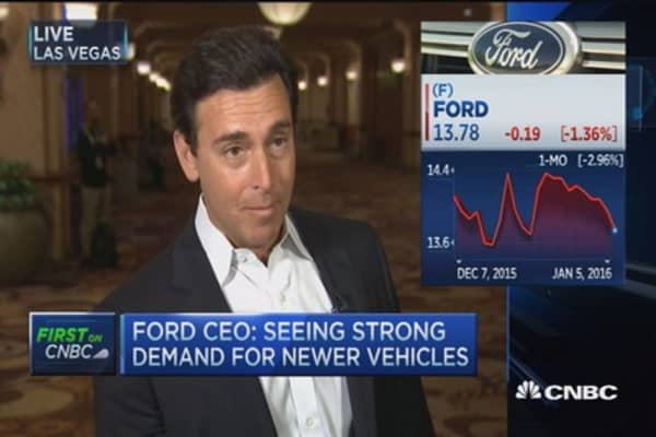 Ford CEO: Auto & mobility focus