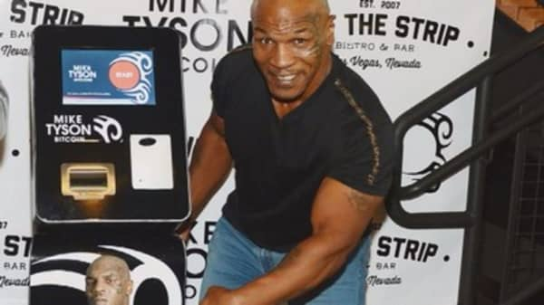 Mike Tyson launches a digital Bitcoin wallet
