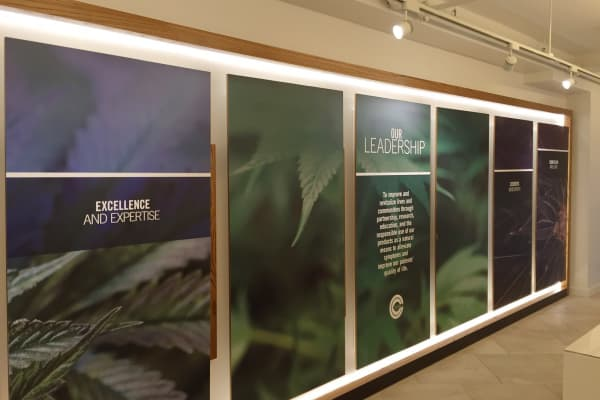 Columbia Care, Medicinal Pot Shop