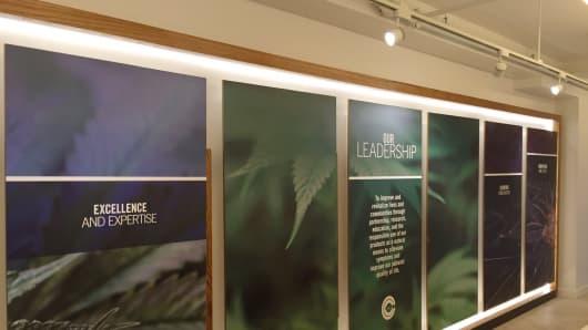 Columbia Care's medical marijuana dispensary in Manhattan.