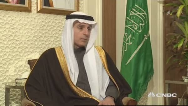 We should be commended not condemned: Saudi foreign min