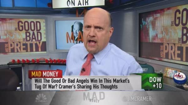 Cramer: What was really behind the huge rebound