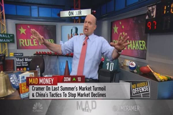 Cramer: Communist China is guessing with stocks