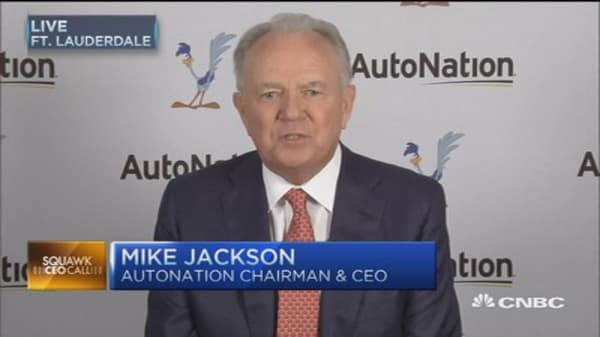AN CEO:  Auto industry entering challenging new chapter