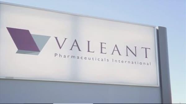 Valeant appoints ex-CFO Schiller as interim CEO