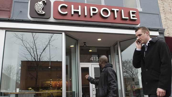 A Chipotle Mexican Grill restaurant in Washington, D.C.