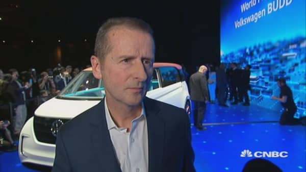 Volkswagen's Dr. Diess: We have to keep our customers happy