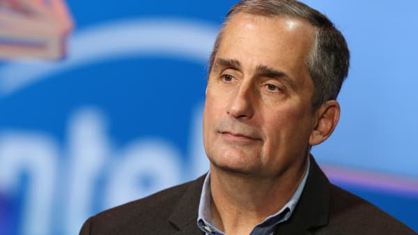 Brian Krzanich, CEO of Intel.