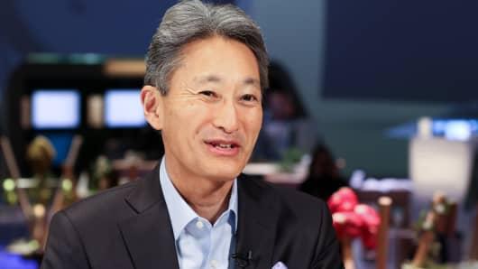 Kazuo Hirai, CEO of Sony.